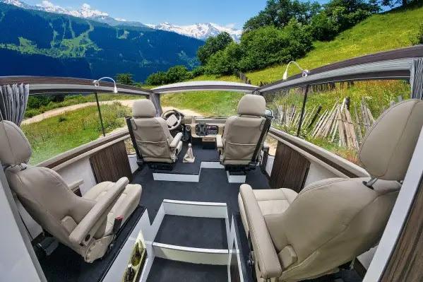 Skydancer Apéro: La primera autocaravana descapotable