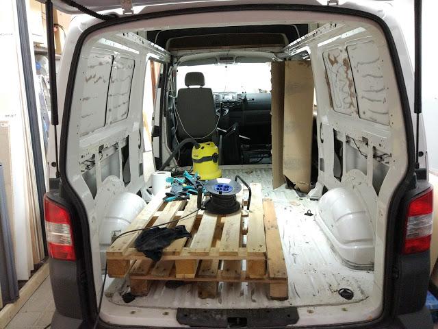 camperización propia furgoneta camper