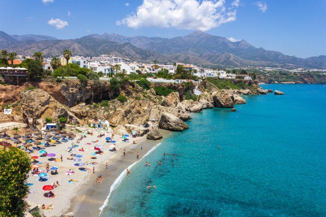 Ruta en furgoneta camper por la costa de Málaga