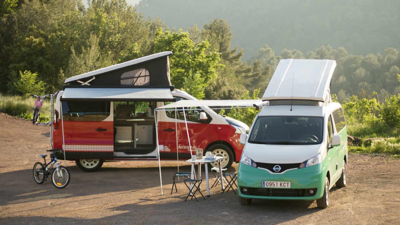 Nissan nv 300 camper